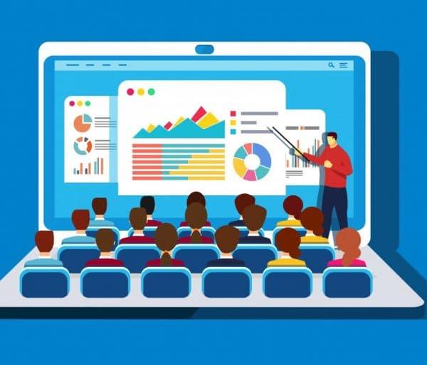 online eğitim ders sistemi